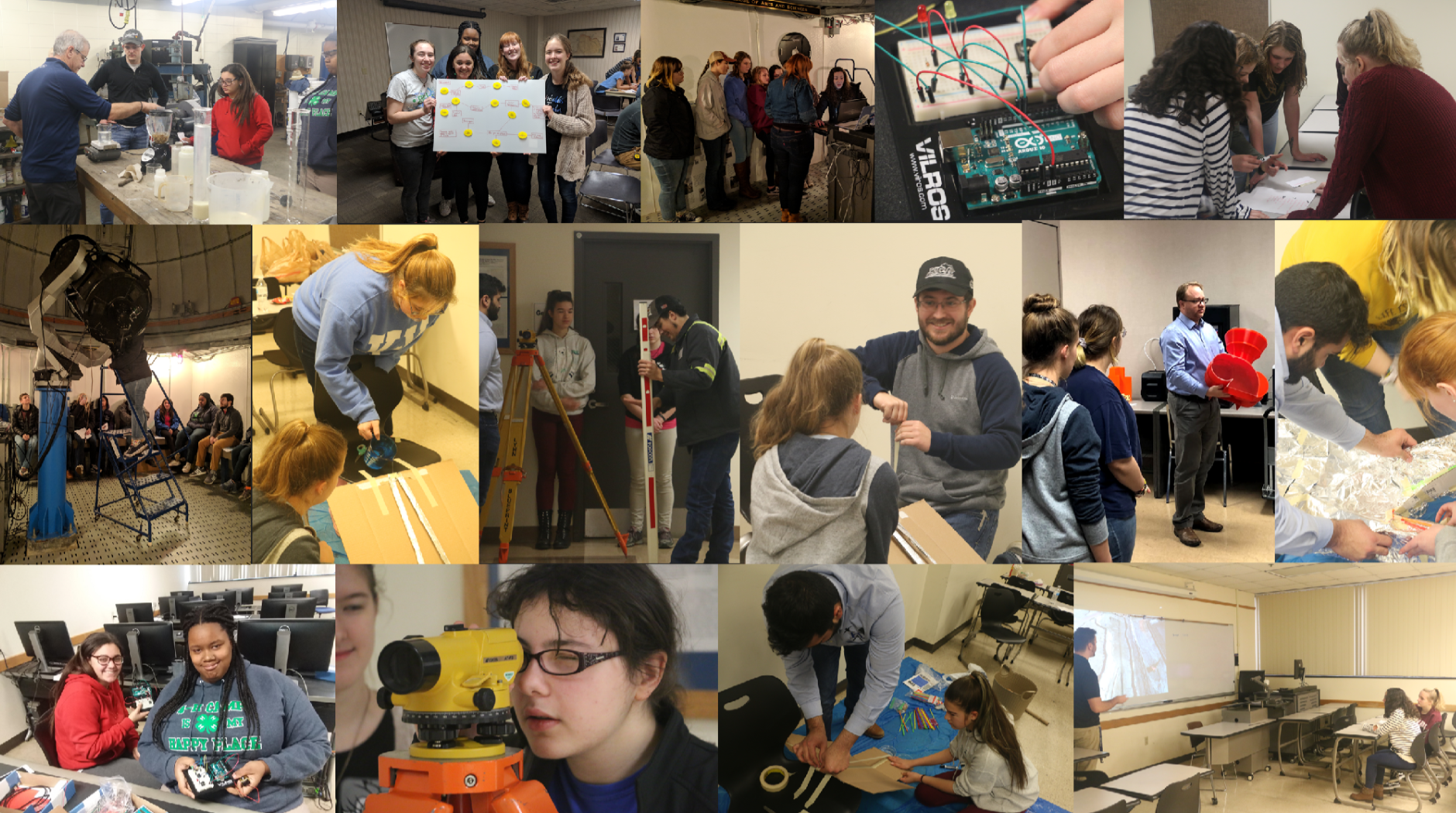 2nd annual mining engineering girl scout lock in