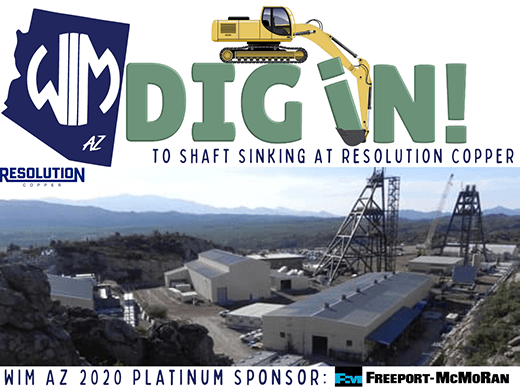 Dig In to the Shaft Sinking at Resolution Copper